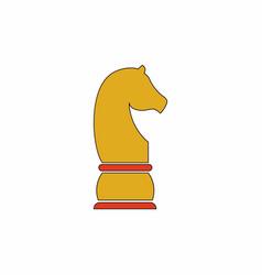 Chess knight vector
