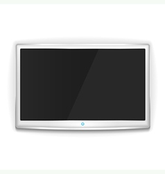 White tv vector