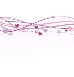 Valentine banner vector