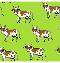 Cow spot pattern vector