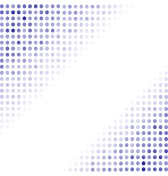 Dotted blue background halftone pattern vector