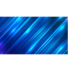 abstract background with blue motion blur vector image vector image