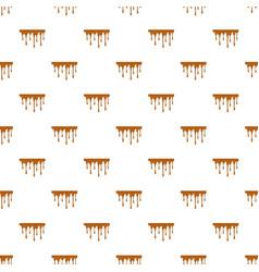Flowing caramel pattern vector