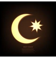 ramadan background Eps10 vector image