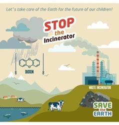 Stop the incineratior vector