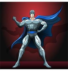 The superhero vector image