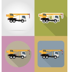 Transport flat icons 23 vector