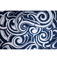 Swirls background vector