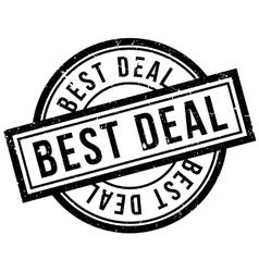 Best Deal rubber stamp vector image vector image