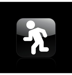 exit security icon vector image