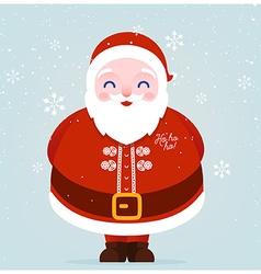 Father christmas icon vector