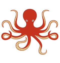octopus ocean vector image vector image