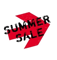 Summer sale stamp vector