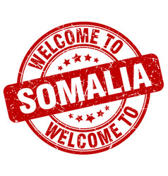 Welcome to somalia vector