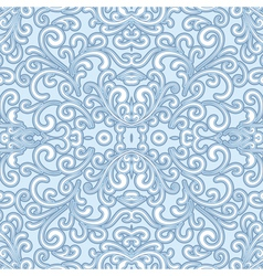 Winter swirly pattern vector image vector image