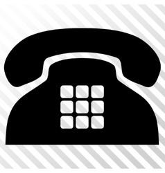 Tone phone icon vector