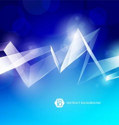 abstract background with glass elements vector image