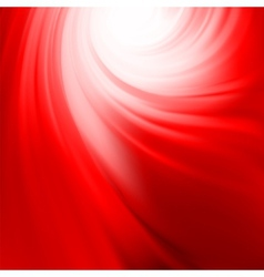 Abstract swirl red design EPS 8 vector image