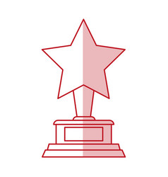 Star award design vector