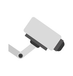 Surveillance security camera vector image