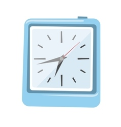 Clock watch alarm icon vector