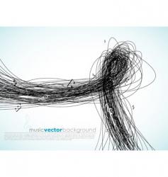 scribbles vector image vector image