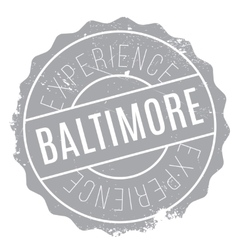 Baltimore stamp rubber grunge vector