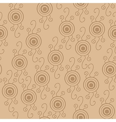 Seamless psychedelic pattern with eyes vector