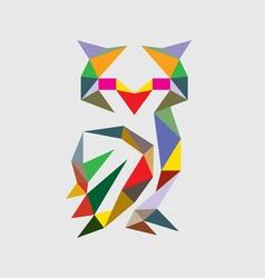 Geometric owl vector
