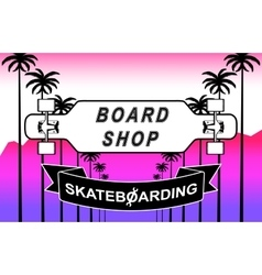 The composition of longboard vector