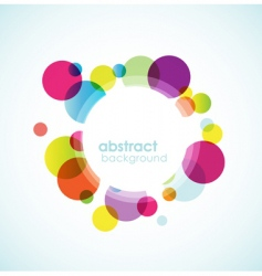 abstract colored background vector image vector image