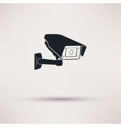 Camera hours security surveillance camera or cctv vector