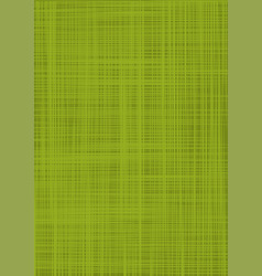 Green burlap green textured sacking background vector