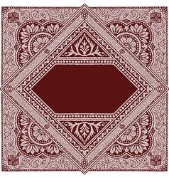 Persian rug vector