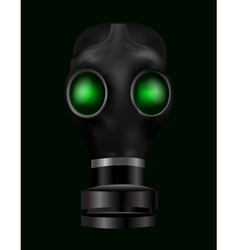 Realistic gas mask vector