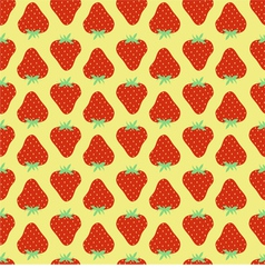 Srawberries pattern vector