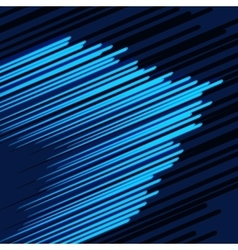 Abstract background the speed vector image vector image