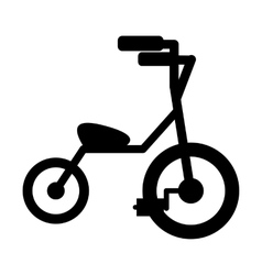 Baby tricycles simple icon vector image
