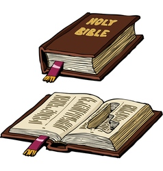 Bible with cache vector