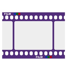 frame of film vector image vector image
