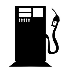 Isolated gas station icon vector