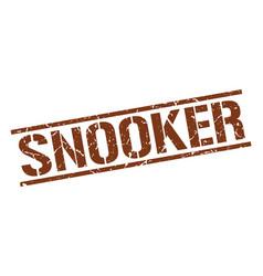 Snooker stamp vector