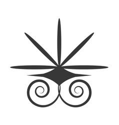 Decorative ornate style design vector