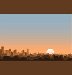 urban background banner vector image