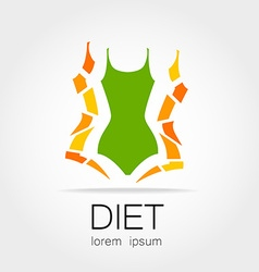 Diet logo vector