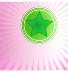 star shine vector image