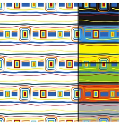 Colorful background pattern vector image