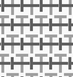 Monochrome pattern with black and gray vector