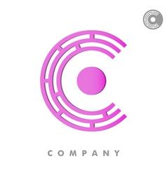C letter vector