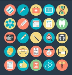 Medical Colored Icons 2 vector image